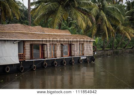 Houseboats on Vembanad Lake