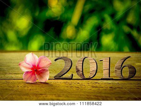 2016 wood background