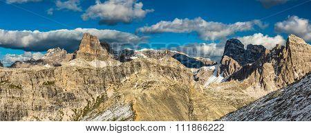 Alps mountains view