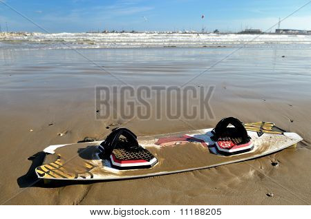 Kite-surfing board