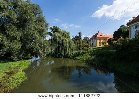 Lednice Castle In South Moravia In The Czech Republic