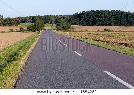 Landscape Of Ground Road
