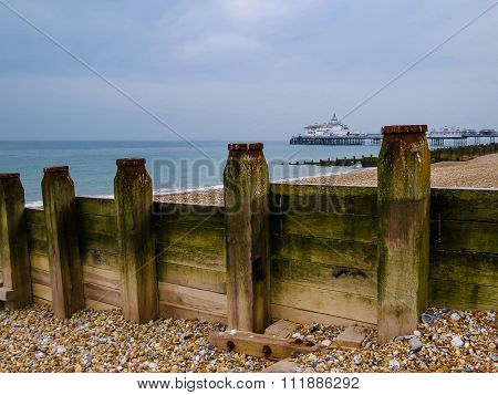 Eastbourne's seashore