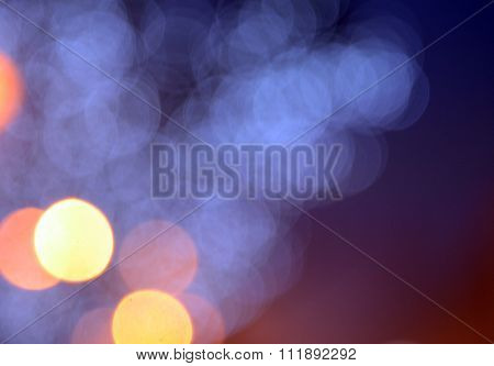 Bokeh Abstract Lights Background