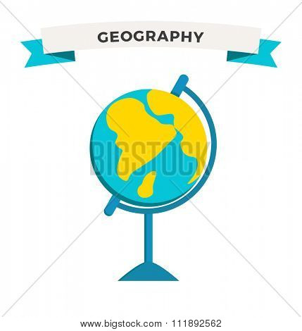 World Globe school icon vector education Globe Earth school symbol. Globe vector map. Globe Earth silhouette. Globe background, geography world vector earth. Globe silhouette, Earth map