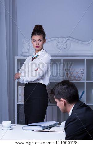 Strict Female Boss