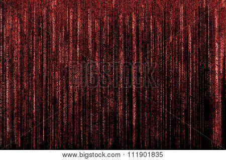 Red Matrix background
