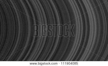 Curve Ribbon Pattern Black And White