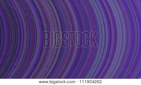 Curve Ribbon Pattern Purple