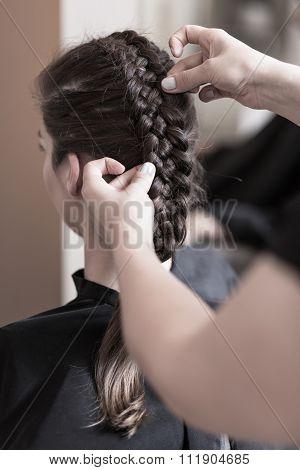 Modern Braided Hairstyle
