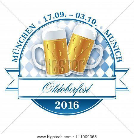 Oktoberfest 2016 pictogram