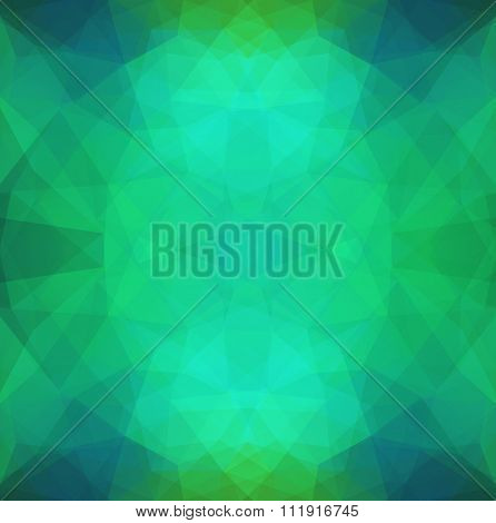 Abstract Pattern In Polygonal Style