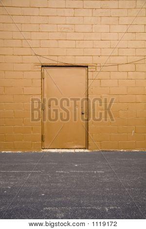 Back Alley Door