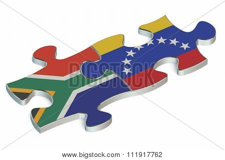 Venezuela And South Africa Puzzles From Flags