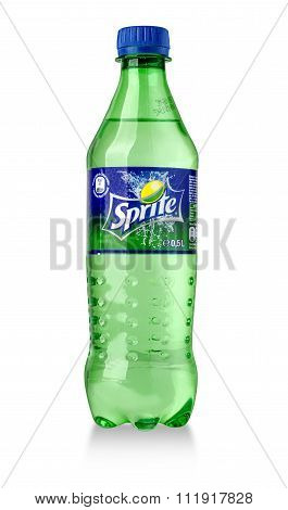 Bottle Of Sprite Drink