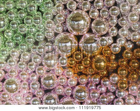 Beautiful Decorative Colorful Glass Beads