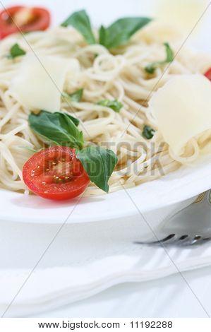 Spaghetti On The Plate