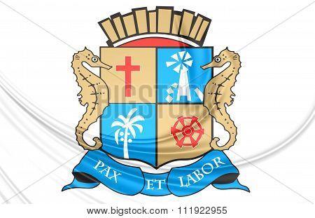 Aracaju Coat Of Arms, Brazil.