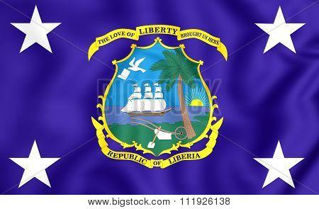 Presidential Standard Of Liberia