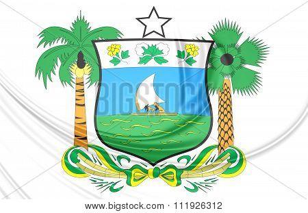 Rio Grande Do Norte Coat Of Arms, Brazil.