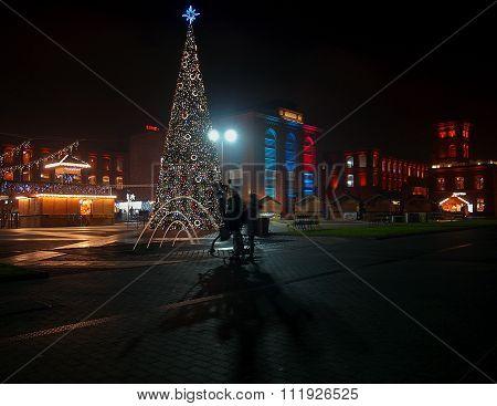 Evening Christmas City