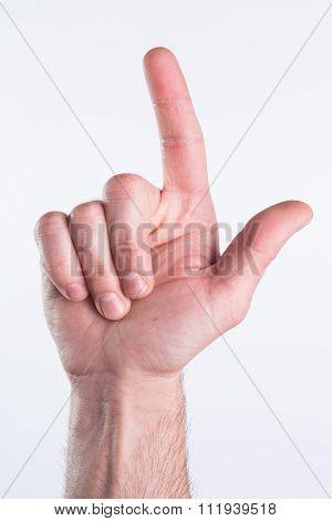 Hand Miming Gun