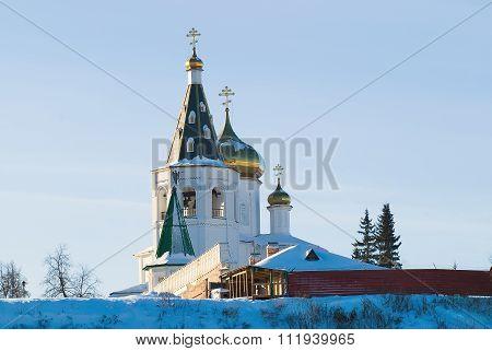 Holy Trinity Monastery. Tyumen. Russia