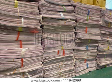 Old Paper Documents