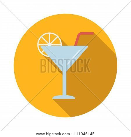 Coctail flat icon