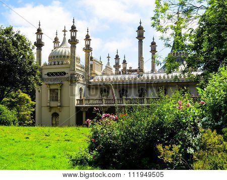 Historic Royal Pavillion in Brighton