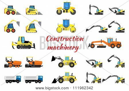 Set construction equipment