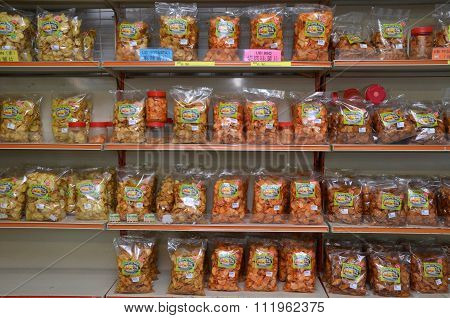 Snacks Sold In Malaysia Retail Sto