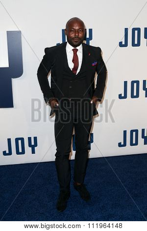 NEW YORK-DEC 13: Actor Jimmy Jean-Louis attends the