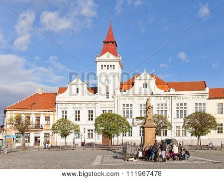 Town Hall In Stara Boleslav, Czech Republic