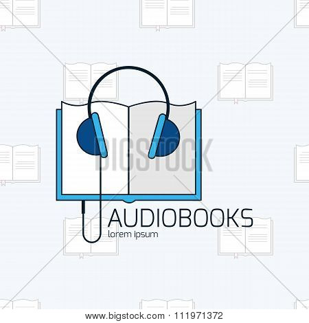 Audiobook Vector Logo