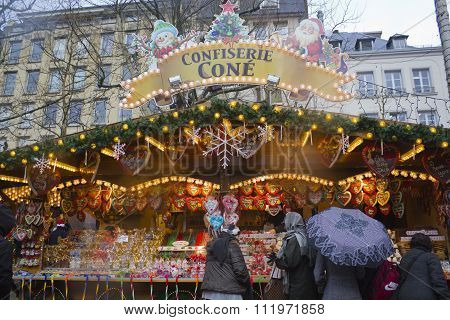 The Christmas Market in Luxembourg