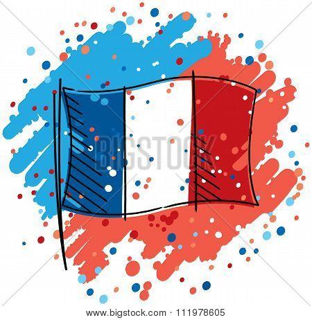 France proud flag