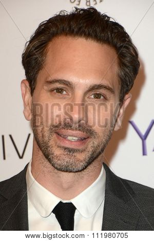 LOS ANGELES - DEC 14:  Thomas Sadoski at the An Evening with