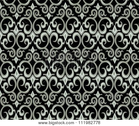 Gothic style ornament pattern