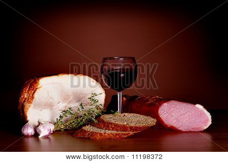 Noble Food Still Life