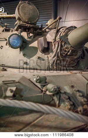 Tank close up
