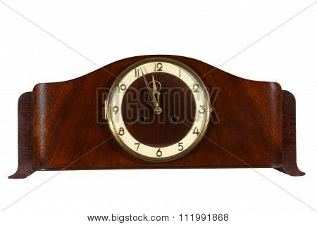 Old Wooden Clock