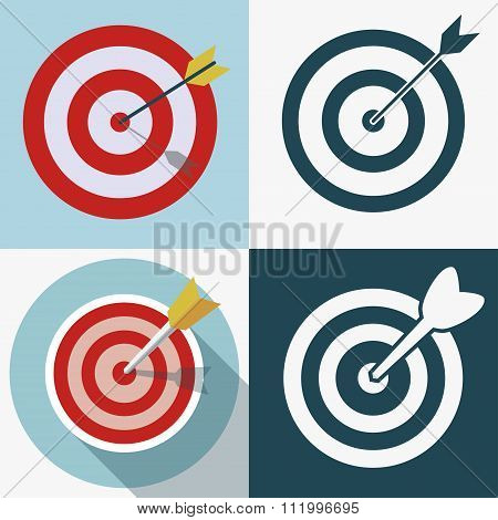 Targeting business icon