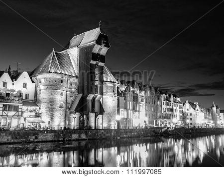 Gdansk by night
