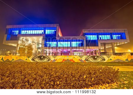 Museum Of Contemporary Art In Zagreb