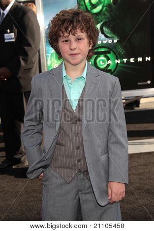 LOS ANGELES - JUN 15:  Nolan Gould arrives to the
