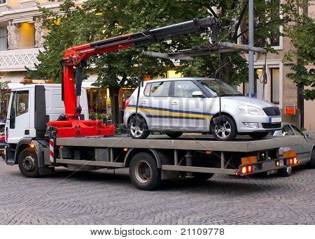 Carro de reboque de fuga