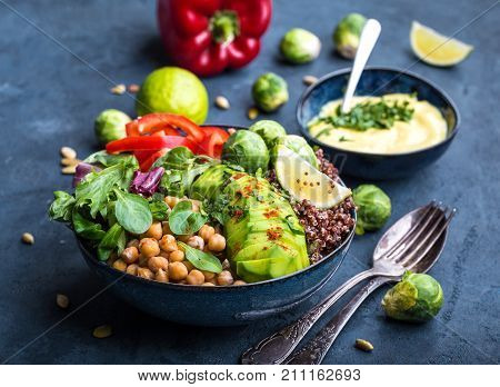 poster of Bowl With Healthy Salad