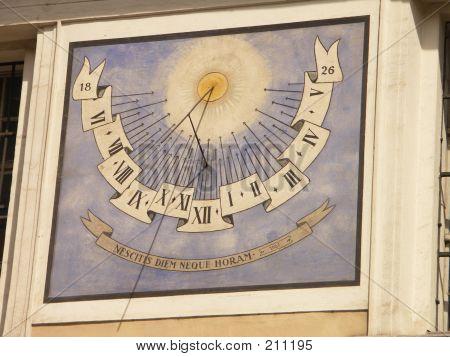 Sun-dial