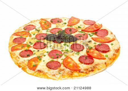 big hot pizza italiano